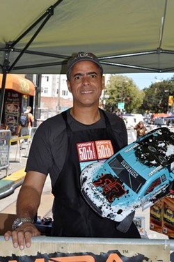 Boss Robot Hobby owner Johnny Williams. - BOSS ROBOT HOBBY'S FACEBOOK PAGE