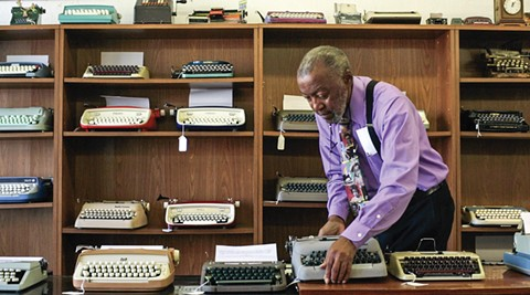 The documentary California Typewriter, which features Herbert Permillion III of Berkeley's California Typewriter, will be the next film to screen in the Magick Lantern series. - PHOTO COURTESY OF AMERICAN BUFFALO PICTURES