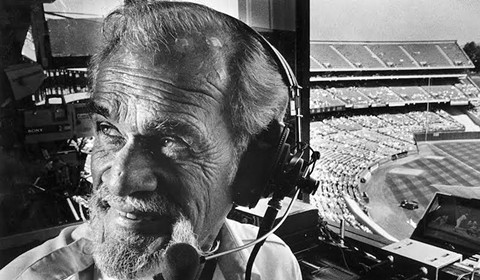 Check out some of Bill King's most memorable calls on BayAreaRadio.org. - PHOTO COURTESY OF THE OAKLAND A'S