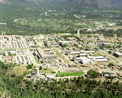 Los Alamos National Laboratory. - COURTESY OF THE U.S. DEPARTMENT OF ENERGY