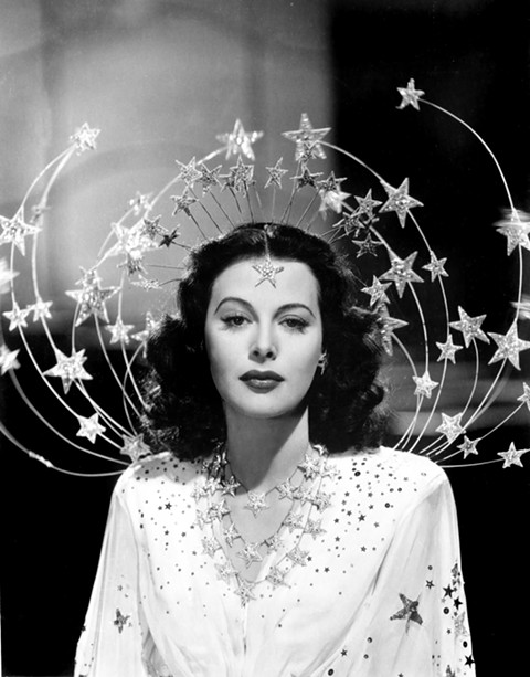 Hedy Lamarr as packaged by MGM, in Bombshell.