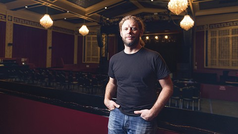 "UC Theatre manager Matthew ""Smitty"" Smith said he loses 85 to 90 percent of the touring acts he bids on to San Francisco. - PHOTO BY LANCE YAMAMOTO"