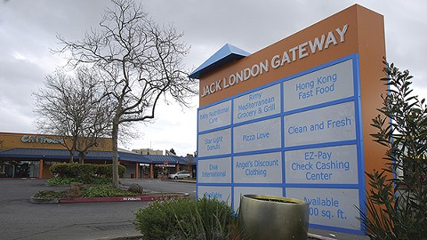 A federal court sold the Jack London Gateway plaza on Feb. 27. - PHOTO BY SCOTT MORRIS