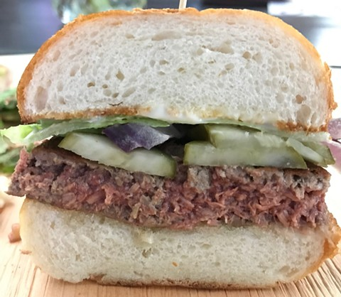 Impossible Burgers offer a plant-based alternative to beef. - JANELLE BITKER