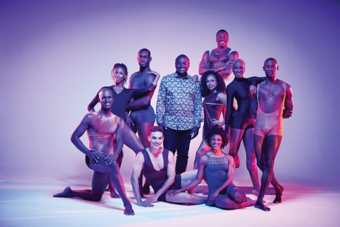 Alvin Ailey American Dance Theater with Artistic Director Robert Battle. - PHOTO BY ANDREW ECCLES
