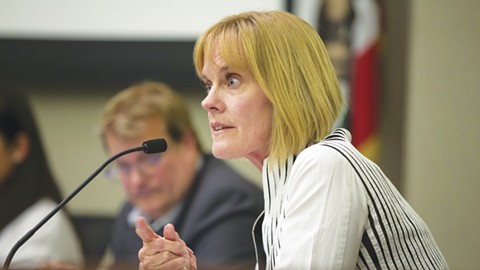 City Manager Jill Keimach secretly taped two Alameda councilmembers. - FILE PHOTO BY D. ROSS CAMERON