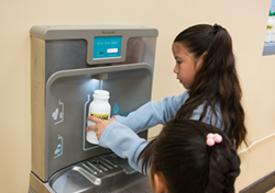 An example of a hydration station that Oakland's soda tax money will be used for in city schools. - SACRAMENTO UNIFIED SCHOOL DISTRICT