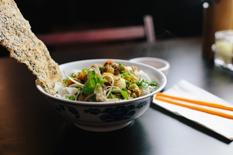 Mi Quang at The Temple Club, which made Michael Bauer's best restaurants list for 2018. - MELATI CITRAWIREJA / FILE PHOTO