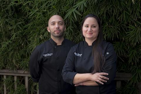 Sergio Emilio Monleón (left) and Emily Sarlatte have already found success with La Marcha. - PHOTO COURTESY OF PHI TRAN