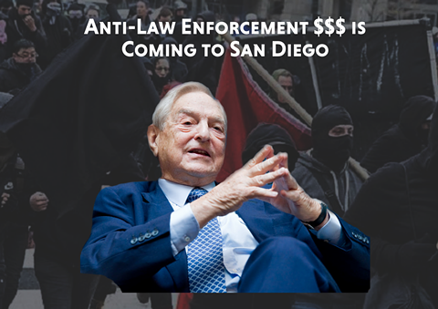 Echoing far-right conspiracy theorists, San Diego incumbent District Attorney Summer Stephan is trying to characterize Soros' support for her opponent Genevieve Jones-Wright as an attack on law enforcement. - THREATTOSANDIEGO.COM