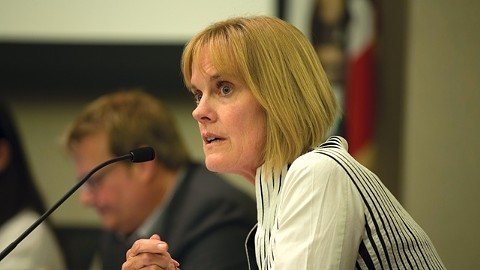 Jill Keimach has been on administrative leave for two months. - FILE PHOTO BY D. ROSS CAMERON.