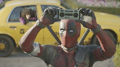 """Ryan Reynolds is back as a masked """"merc with a mouth."""""""