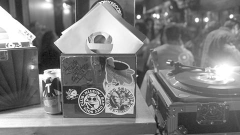 Suavecito Souldies are all about vinyl. - PHOTO COURTESY OF JORGE M. GONZALEZ