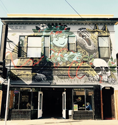 Hasta Muerte's building is for sale. - PHOTO COURTESY OF AZAEL GARCIA
