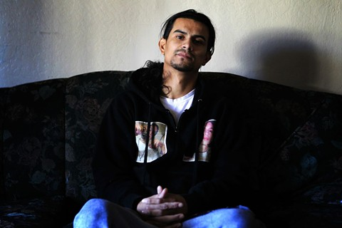 """Javier Arango is the 29-year-old Oakland resident who is the focus of """"You're going back to East Oakland,"""" the fourth episode of AFTERMATH, an 8-part series about surviving gun violence in America. - PHIL DIDION/CINCINNATI ENQUIRER"""