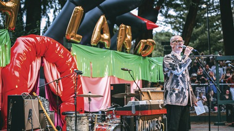 Actor John Waters will once again host Burger Boogaloo. - PHOTO COURTESY OF LILY CHOU