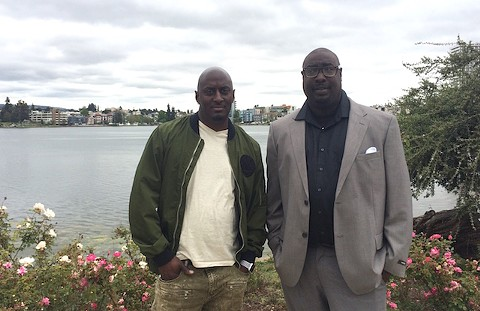2 Brothers at the Lake founders Onsayo Abram and Kenzie Smith. - PHOTO BY MOMO CHANG
