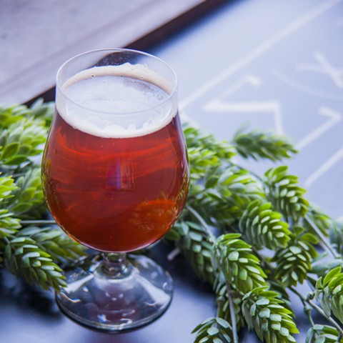 Oakland United Beerworks will brings its ƒn (IPA) and other beers to a new taproom this summer. - PHOTO COURTESY OF OAKLAND UNITED BEERWORKS