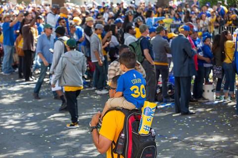 Attendees at the 2015 parade. - BERT JOHNSON