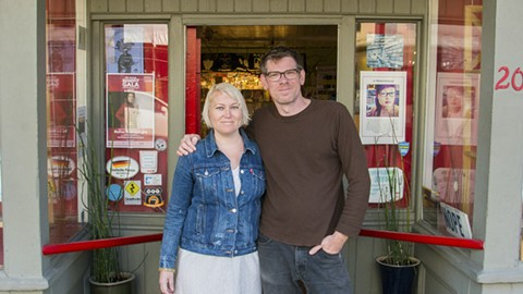 Noella Teele and Joe Colley will reopen their shop on July 1. - PHOTO COURTESY OF NATHANIEL BROOKS