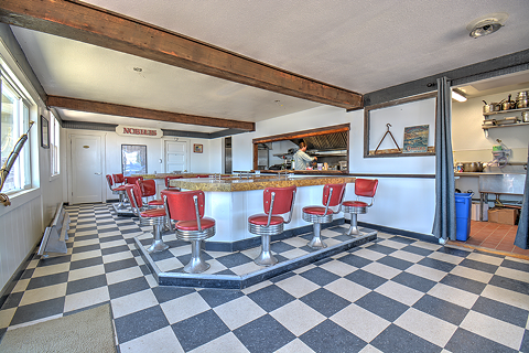 The updated diner used to be the historic Galley Cafe. - PHOTO COURTESY OF NOBILIS RESTAURANT