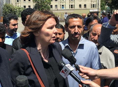 "Alhaggagi's attorney Mary McNamara said her client has been ""slammed by the legal system."" - DARWIN BONDGRAHAM"