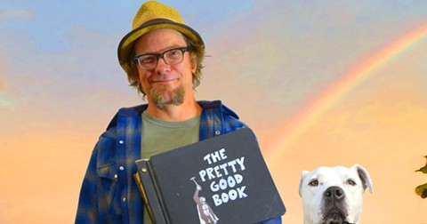 Joe Rut almost lost The Pretty Good Book  forever. - PHOTO COURTESY OF MYLES BOISEN