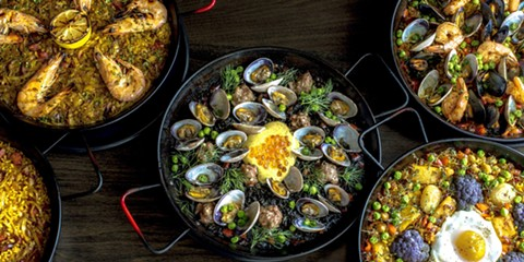 The paella will reflect the restaurant's emphasis on seafood. - PHOTO COURTESY OF PHI TRAN