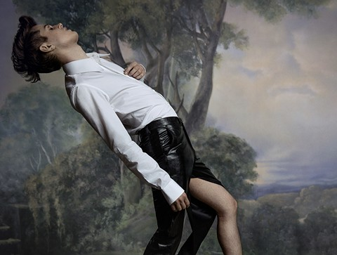 Perfume Genius' performances are usually full of memorable movement. - PHOTO COURTESY OF PERFUME GENIUS