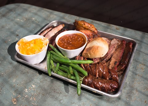 Smokin' Woods BBQ will sell more than meats and sides at 2nd Half Sports Lounge. - FILE PHOTO/RICHARD LOMIBAO