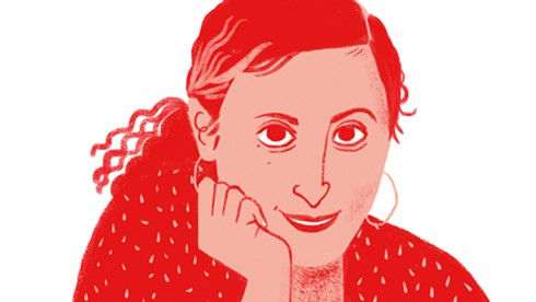 Reem Assil. - ILLUSTRATION BY GILLIAN DREHER