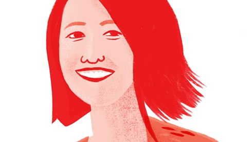 Xiaojing Wang - ILLUSTRATION BY GILLIAN DREHER
