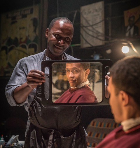 Barber Shop Chronicles. - PHOTO BY MARC BRENNER.