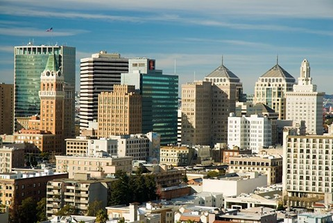 Downtown Oakland includes two business improvement districts.