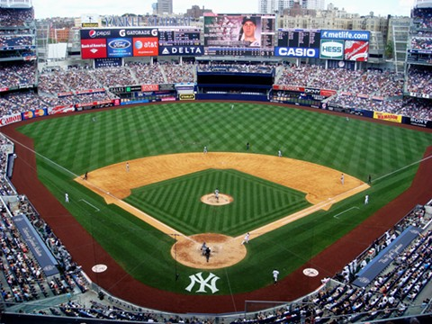 After a meandering, four-year journey through MLB's desert, the upstart A's have arrived as unlikely contenders at a historic destination: Yankee Stadium in the South Bronx. - WIKIMEDIA COMMONS