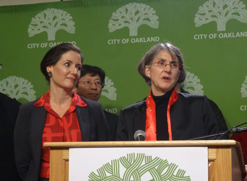 """Oakland Mayor Libby Schaaf directed Police Chief Anne Kirkpatrick to delete reference to """"sexual assault"""" in the waiver, but OPD. like other police departments, will still obtain police records that pertain to sexual assaults when backgrounding job applicants."""