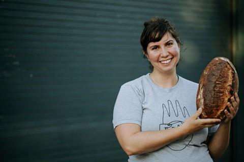Iliana Berkowitz, founder of As Kneaded Bakery. - PHOTO COURTESY OF HANNA MAASS PHOTOGRAPHY