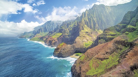 The island of Kauai is the opposite of the Bay Area this time of year.