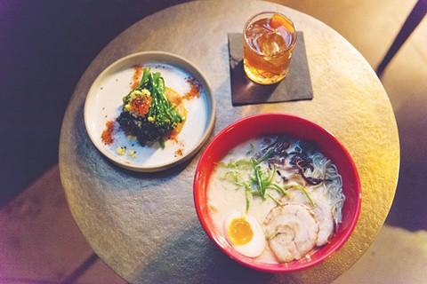 Shinmai serves ramen, izakaya-inspired plates, and cocktails. - PHOTO BY LANCE YAMAMOTO