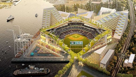 PHOTO: OAKLAND ATHLETICS / BJARKE INGELS GROUP