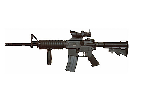 A Colt M4 rifle similar to the model stolen from an ATF agent's vehicle in Oakland on Tuesday.