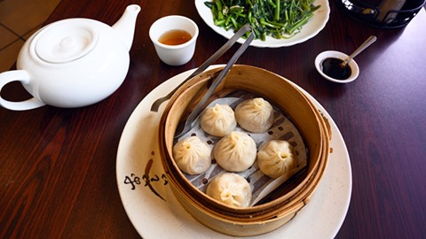 Now, you don't have to drive an hour and stand in line for hours more to eat xiao long bao. - PHOTO BY LANCE YAMAMOTO