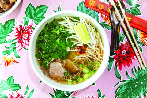Kuy teav Phnom Penh is the dish that put Nyum Bai on the map. - FILE PHOTO BY ANDRIA LO