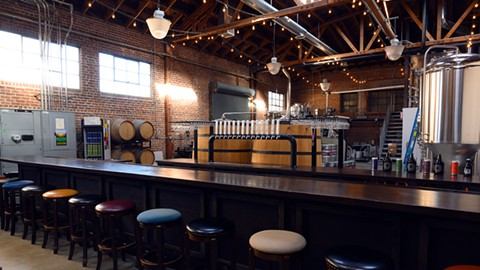 Original Pattern Brewing Company is another newcomer to the Jack London district. - PHOTO BY LANCE YAMAMOTO