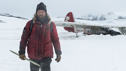Mads Mikkelsen, stranded on the tundra in Arctic.