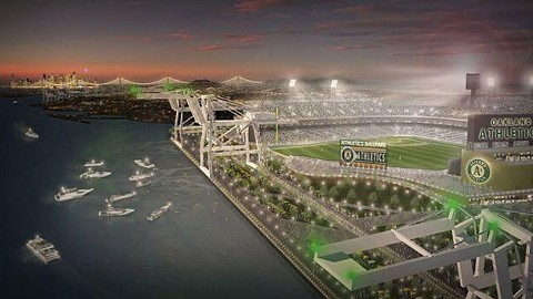 Proposed Howard Terminal ballpark