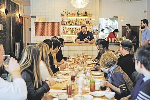 Patrons can hear chefs talk at the Tasting Collective. - PHOTO COURTESY OF THE TASTING COLLECTIVE