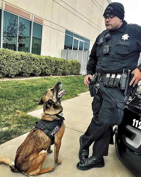 Former K-9 officer Kristian Palma was the officer involved in the shooting. - PHOTO COURTESY OF RICHMOND PD