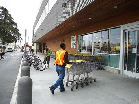Employee at Berkeley Bowl. Shoppers at Berkeley Bowl may have been exposed to measles on May 7. - FILE PHOTO