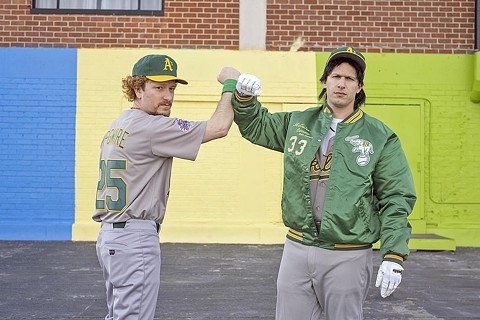 """Andy Samberg and Lonely Island's Netflix comedy """"The Unauthorized Bash Brothers,"""" was released Thursday to an unsuspecting public and features numerous East Bay references. - NETFLIX"""